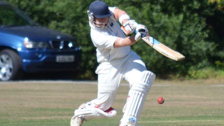 Rick Zeiderman produced a great knock in London Colneys win at Holtwhites Trinibis. Picture: MATT BR