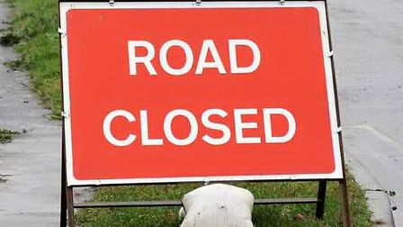 Brampton Road in St Albans is due to be closed for repairs to potholes.