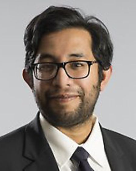 NatWest community banker for Harpenden Fax Siraj. Picture: Chris Close.
