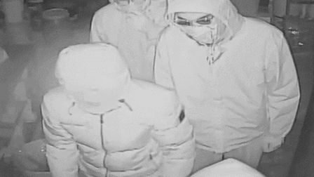 Do you recognise these men? Picture: Herts police