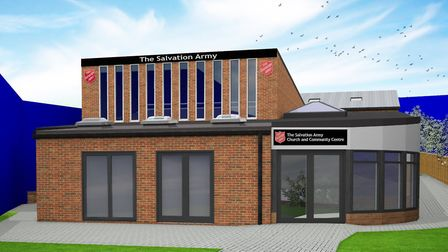 An artist's impression of the new community hub. Picture: The Salvation Army