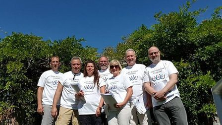 The Keep Wistow Flowing campaign team.
