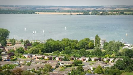 Grafham Water, near Perry. Picture: ANGLIAN WATER