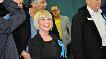 Stella Nash, newly elected Park Street Councillor with Park Street.