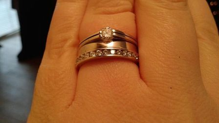One of the items stolen in the jewellery theft in Flamstead. Picture: Herts Police.