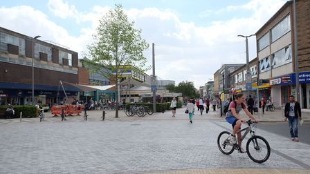 Hemel has no shortage of shops, cafes and restaurants