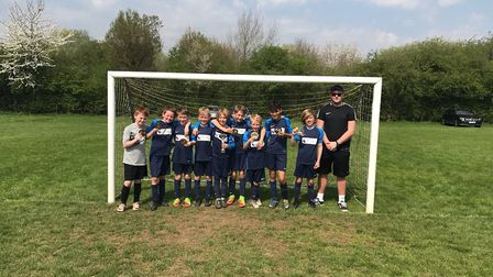 The Fleetville Year 5 boys were crowned winners of the St Albans six-a-side tournament at Colney Hea