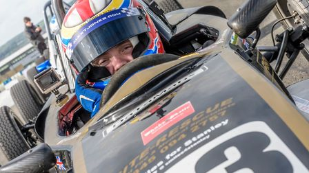 Radlett's Alex Jones was pleased with his efforts at Brands Hatch in the Formula Vee Championship.
