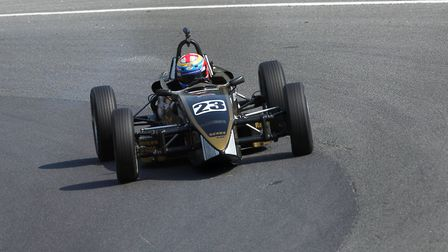Radlett's Alex Jones was pleased with his efforts at Brands Hatch in the Formula Vee Championship. P