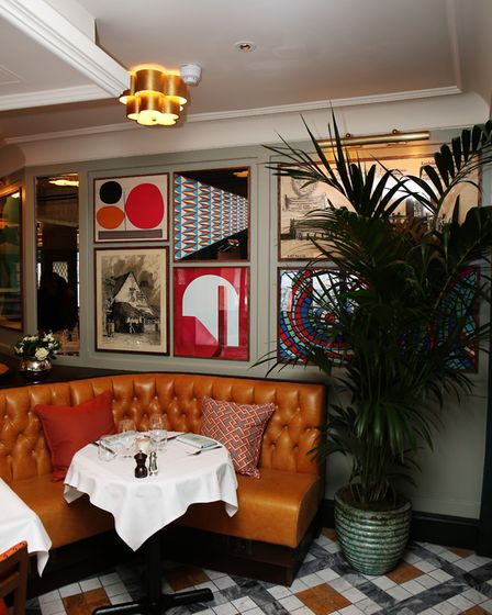 The Ivy St Albans Brasserie. Picture: DANNY LOO