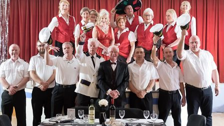 The MADS cast performed Showboat of the Seas in aid of The MindEd Trust. Picture: MADS