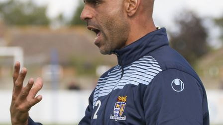 St Neots Town manager Matt Clements. Picture: CLAIRE HOWES