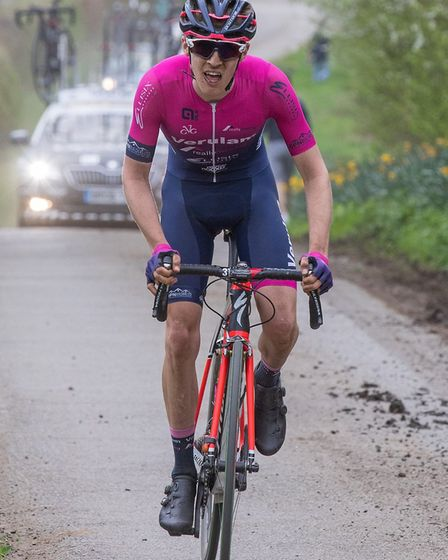 Verulam Reallymoving's Michael Parry at the CiCLE Classic. Picture: JUDITH PARRY PHOTOGRAPHY