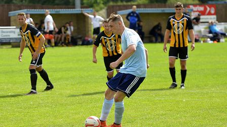 Ben Yeomans has struck five goals in two games for Godmanchester Rovers.