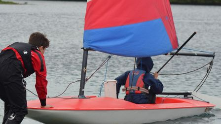 Come and try event at Paxton Sailing Club