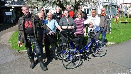 Members of the Royston & District Motorcycle Club paid a visit to the Aurora Meldreth Manor. Picture