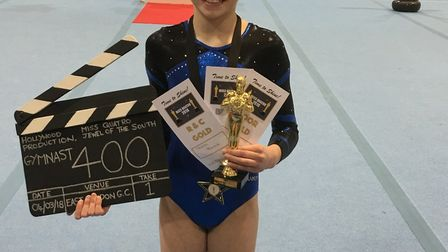 Phoebe Peacock of St Albans will have a shot at a national title after being crowned regional gymnas
