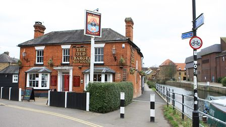 The Old Barge, Hertford (Picture: Karyn Haddon)