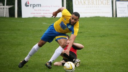 Dwayne Duncan in action. Picture: Kevin Lines