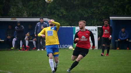 Steve O'Rielly gets the ball under control. Picture: Kevin Lines