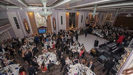 The guests at Siobhan's ball. Picture: Simon Roberts Photography