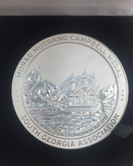 The Morag Husband Campbell Medal. Picture: CONTRIBUTED