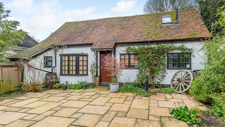 A major feature of the property is this three-bed self-contained cottage
