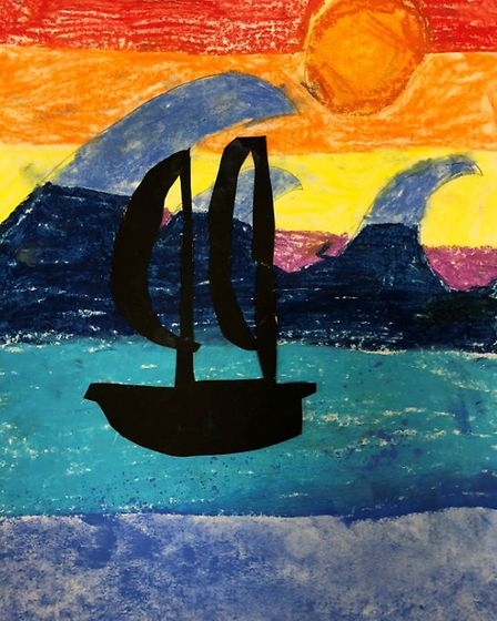 Creative Royston entry: Boats at Sunset. Picture: Creative Royston