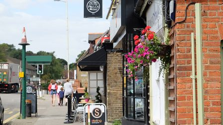 Oscar's Pizza Company is one of the high street's main attractions