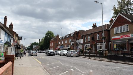 Kings Langley high street has a mix of amenities