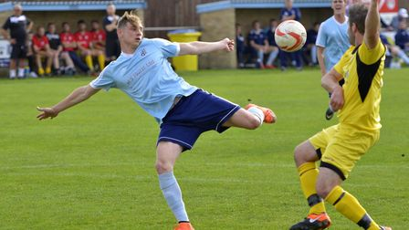 Ben Yeomans has been in red-hot form for Godmanchester Rovers in recent days. Picture: DUNCAN LAMONT