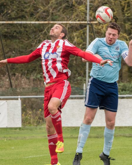 Tom Moran was among the Godmanchester Rovers scorers against Wivenoe. Picture: J BIGGS PHOTOGRAPHY