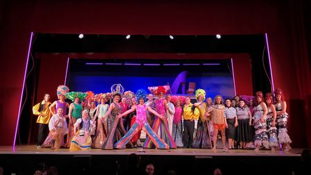St Albans Musical Theatre Company's production of Priscilla, Queen of the Desert