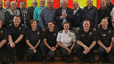 50th anniversary of St Neots Fire Station