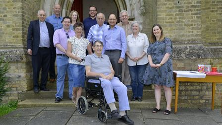 North West Cambridgeshire MP Shailesh Vara joined parishioners at St Mary's Church, in Ramsey. Pictu