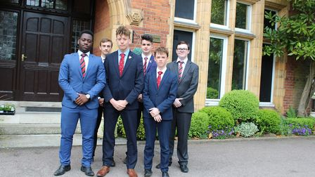 Pupils from St Columba's College (Picture: ICAEW)