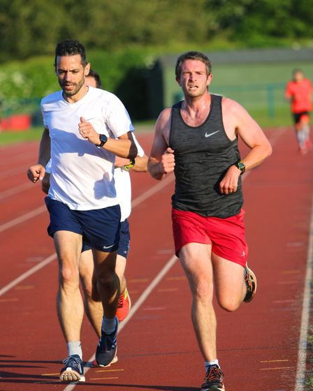 Over 80 St Albans Striders ran at the club's night of PBs with 35 of them setting new benchmarks. Pi