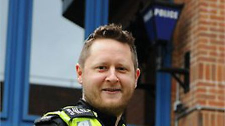 Sgt Paul Caro. Picture: Herts Police.