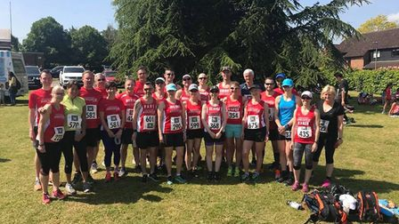 Plenty from Harpenden Arrows took part in the Wheathampstead 10K.