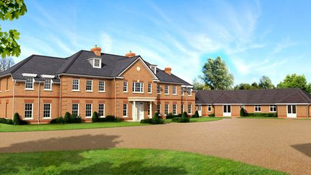 As it will be: modern, lavish, seriously high-tech but with a nod to its period heritage