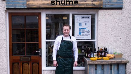 Luan Saraqi has opened Shume in Cross Keys Mews