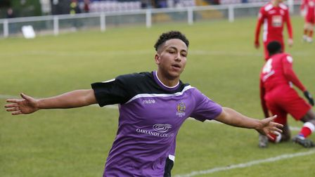 Zane Banton has signed a new contract with St Albans City. Picture: LEIGH PAGE