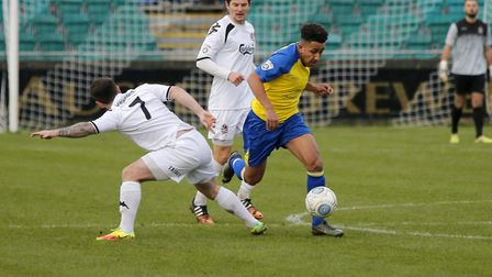 Zane Banton will remain at Clarence Park for another season. Picture: LEIGH PAGE