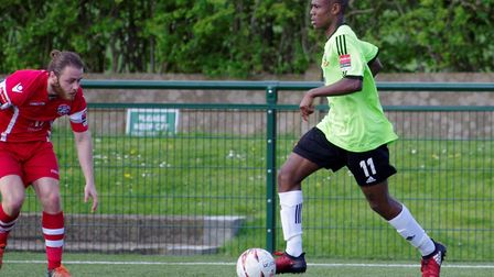 Former Hendon winger Khale Da Costa is the first new signing for St Albans City this summer. Picture
