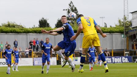 Stevenage will visit St Albans City again for a pre-season friendly as they did in 2016. Picture: LE