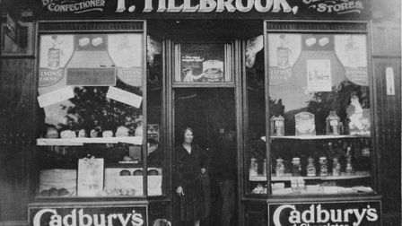 Pictures from the London Colney archive. Tillbrook Stores.