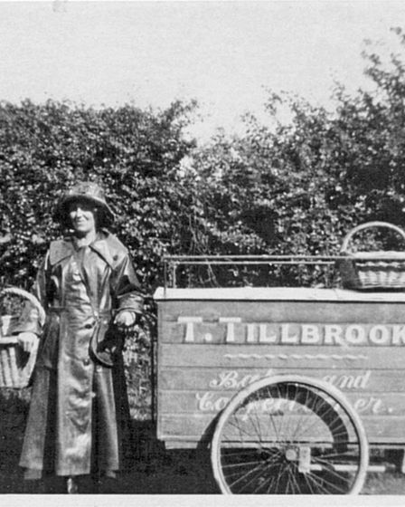 Pictures from the London Colney archive. Mrs Tilbrook, 1910