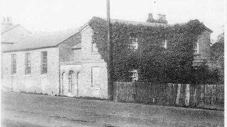 Pictures from the London Colney archive. Village school and schoolmaster's house.