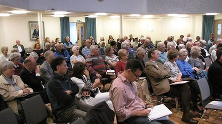 The Harpenden Society meeting about Luton Airport.