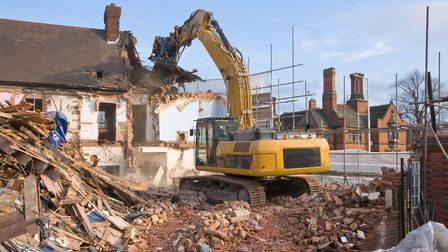 Moneyed home owners are bringing the house down - quite literally (Stock image: Getty)